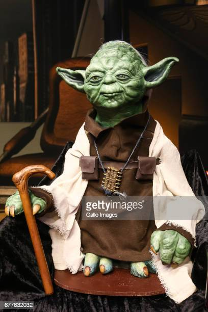 Yoda seen during the STAR WARS Day on May 01 2017 at Nowy Fort in Warsaw Poland The event for famous science fiction movie series enthusiasts was...