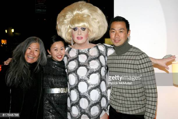 Yoehlee Tang Niki Cheng Lady Bunny and Shaokao Cheng attend 8th Annual BoCONCEPT/KOLDESIGN Holiday Party at Bo Concept Madison Ave on December 14th...