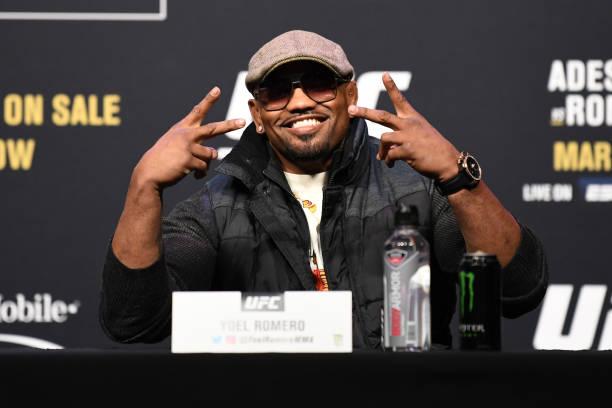 TX: UFC 248 Adesanya v Romero Press Conference