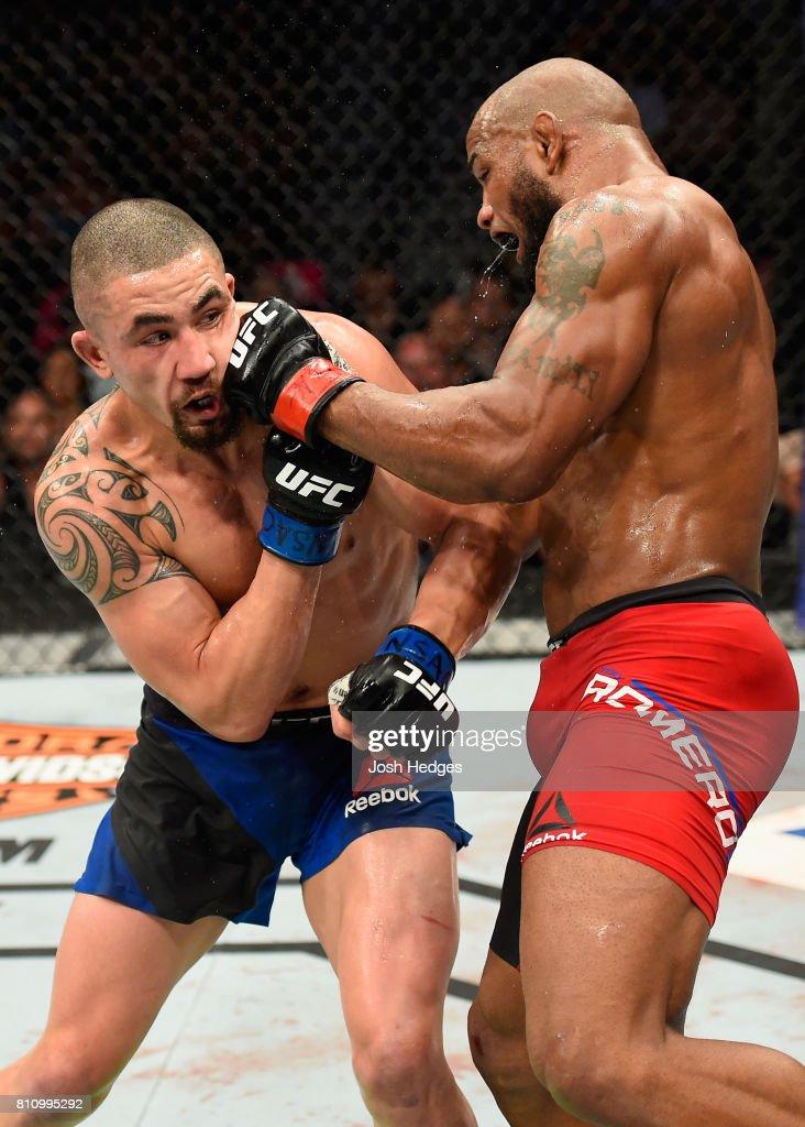 UFC 213: Romero v Whittaker