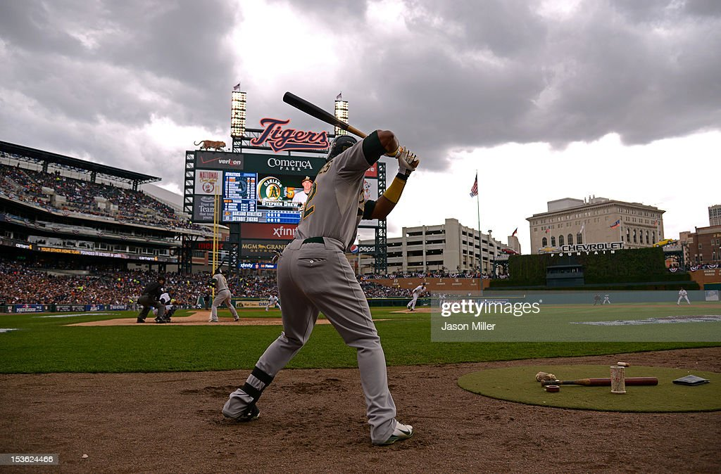 Oakland Athletics v Detroit Tigers - Game Two : News Photo