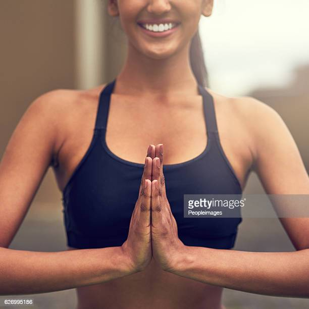 Yoga changes the way you approach life