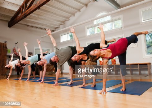 yoga class stock photo  getty images
