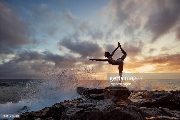 Yoga dance pose