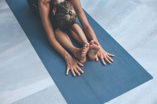 Yoga exercises at home 1173855731