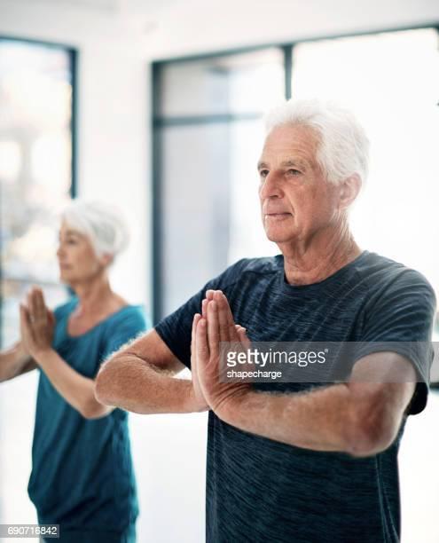 Yoga est devenu une partie bénéfique de leur mode de vie