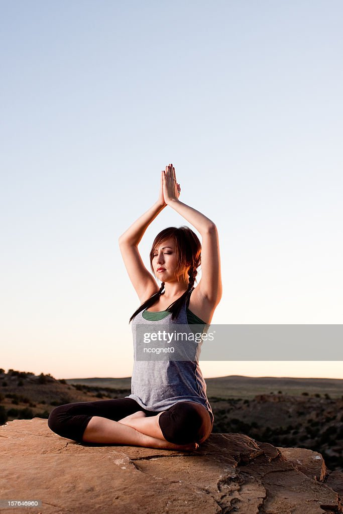 Yoga In Nature Stock Photo - Getty Images