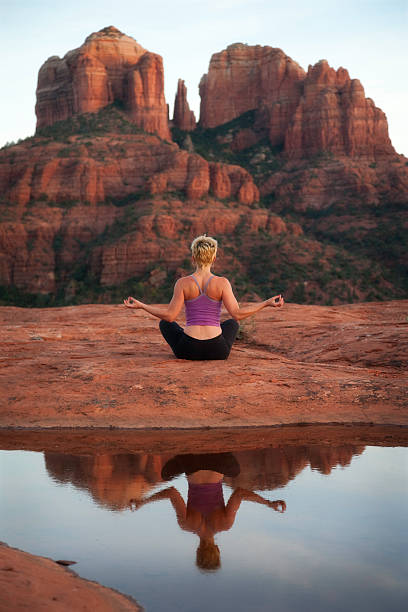 Yoga In Sedona Wall Art