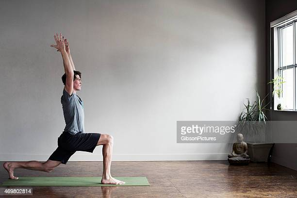 yoga instructor - zen like stock pictures, royalty-free photos & images