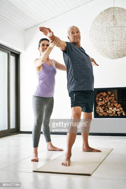 Yoga ist ein guter Weg, um Fehlhaltungen zu beheben