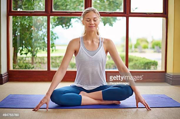 Lo Yoga è una parte della sua routine quotidiana