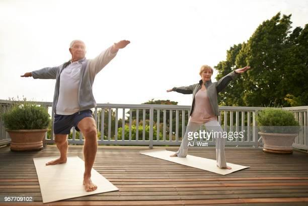 Yoga hält uns jung