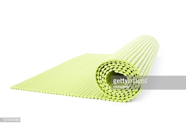 Yoga mat isolated