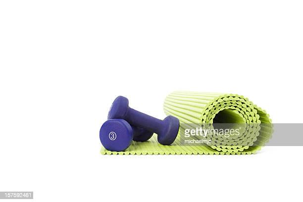 yoga mat - exercise equipment stock pictures, royalty-free photos & images