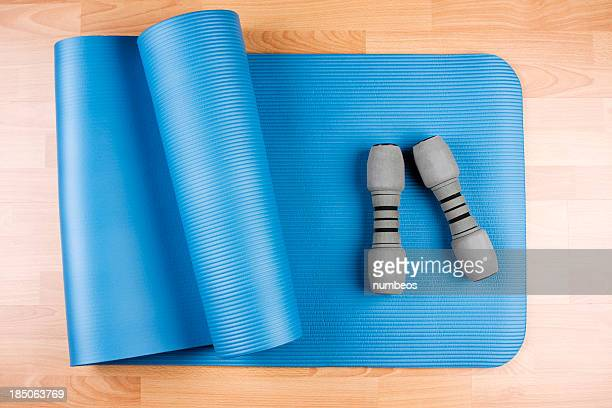 yoga mat - mat stock pictures, royalty-free photos & images
