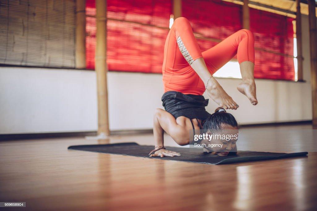 Yoga-Meditation : Stock-Foto