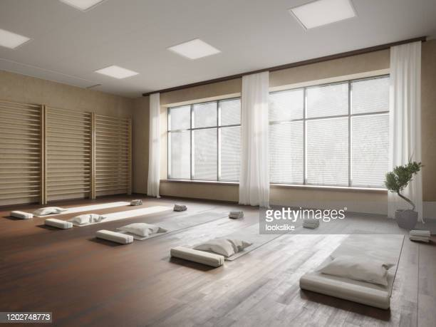 yoga studio - yoga studio stock pictures, royalty-free photos & images