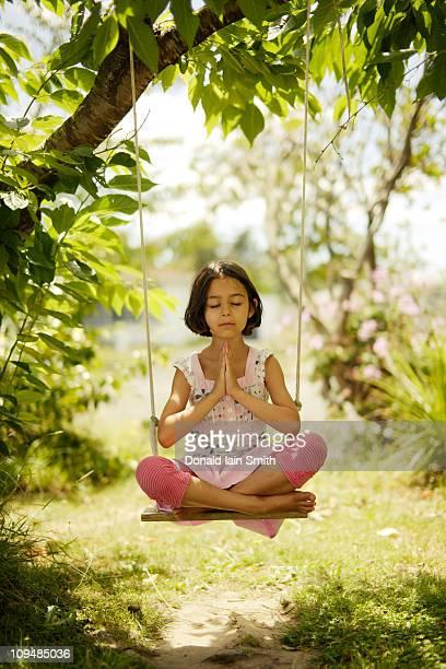 Yoga swing balance