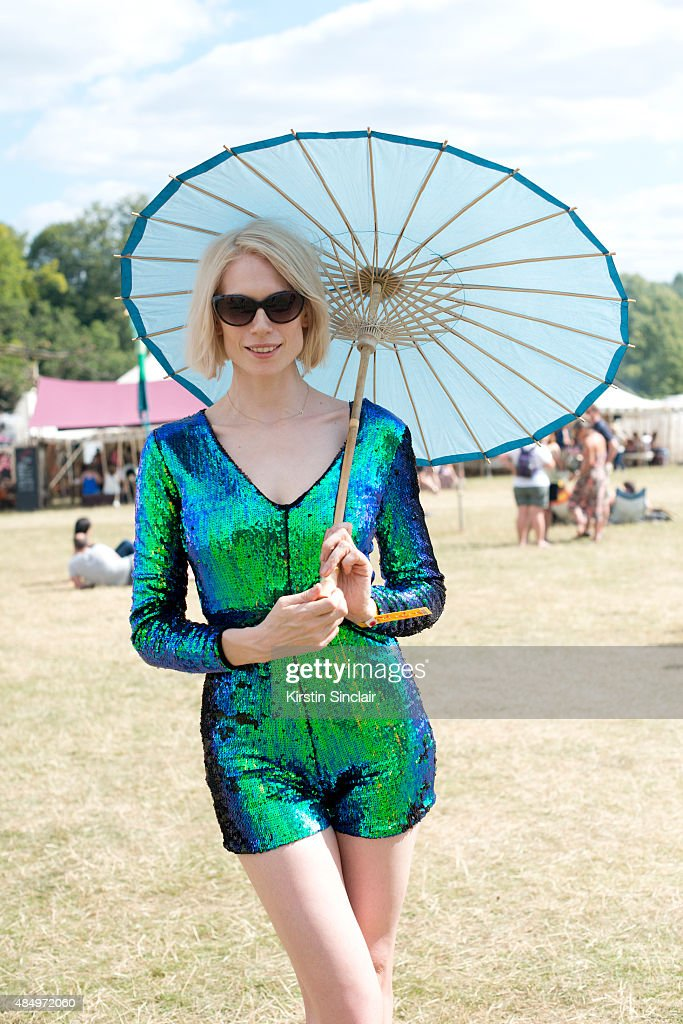 Street Style at The Wilderness Festival 2015 - August 06 To August 09, 2015 : News Photo