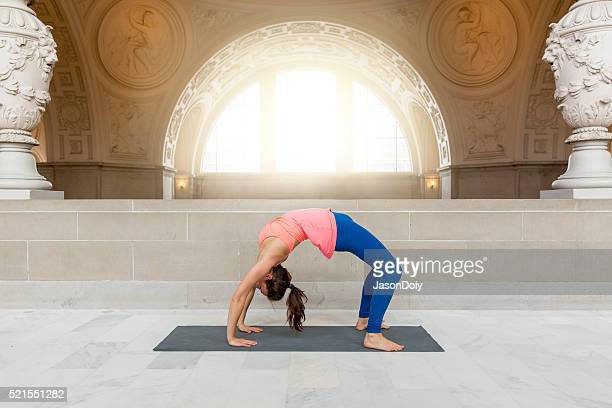 Yoga Upward Facing Bow Pose