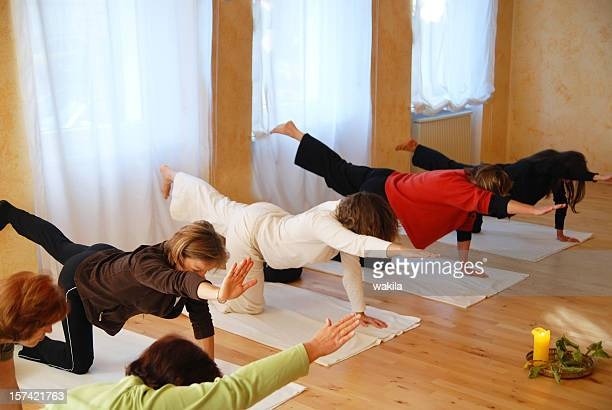yogagroup in training