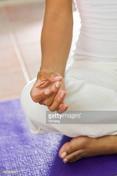 Yoga-Lotus Position