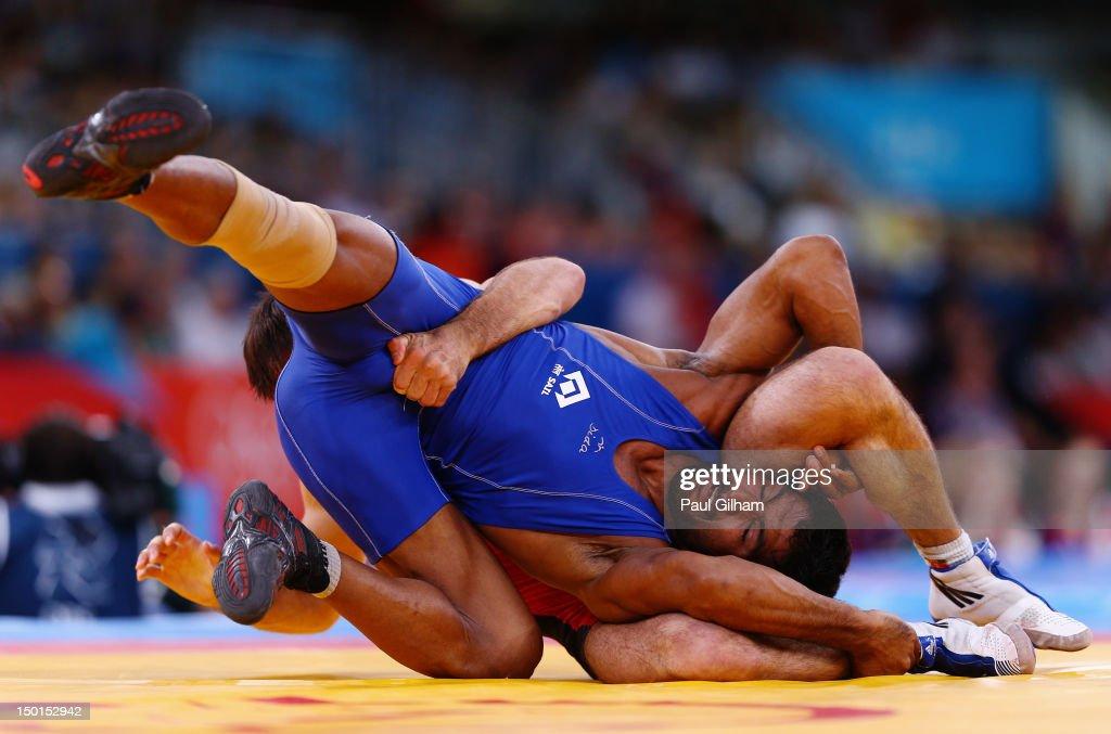 Olympics Day 15 - Wrestling : ニュース写真