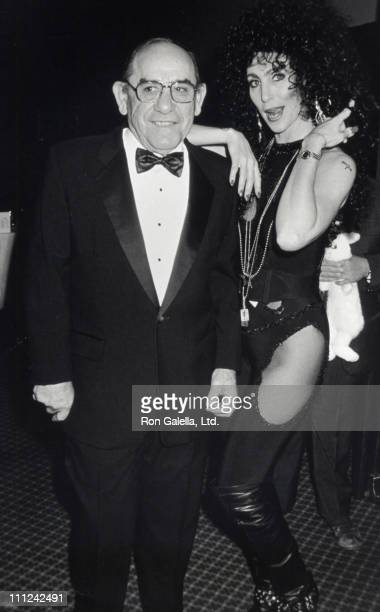 Yogi Berra and Audrey Cassell during 9th Annual Jewerly Council Committee Dinner at Marriot Marquis Hotel in New York City New York United States
