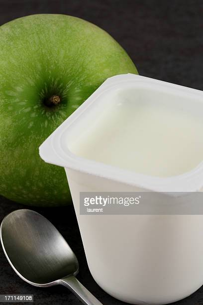 Yaourt et apple