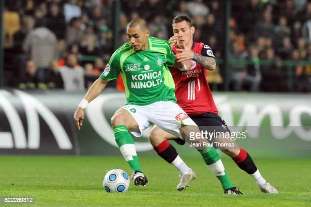 Yohan BENALOUANE Saint Etienne / Lille 32eme journee de Ligue 1 Stade Geoffroy Guichard Saint Etienne