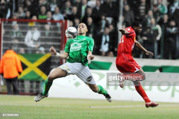 Yohan BENALOUANE Saint Etienne / Nancy 29e journee Ligue 1