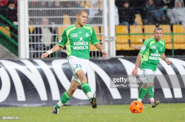 Yohan BENALOUANE Saint Etienne / Nice 15eme journee de Ligue 1