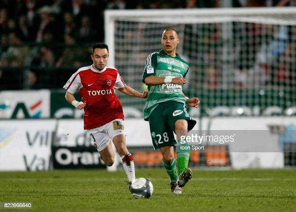 Yohan BENALOUANE Valenciennes / Saint Etienne 26e journee Ligue 1 Stade Nungesser