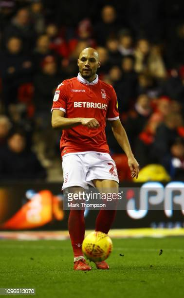 Yohan Benalouane of Nottingham Forest in action during the Sky Bet Championship match between Nottingham Forest and Bristol City at City Ground on...