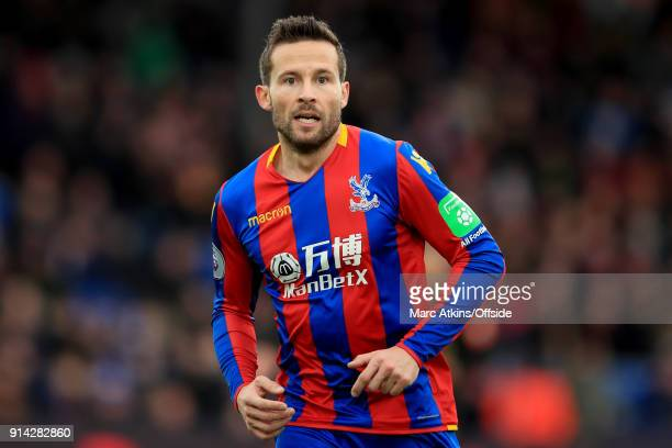 Yohan Cabaye of Crystal Palace during the Premier League match between Crystal Palace and Newcastle United at Selhurst Park on February 4 2018 in...
