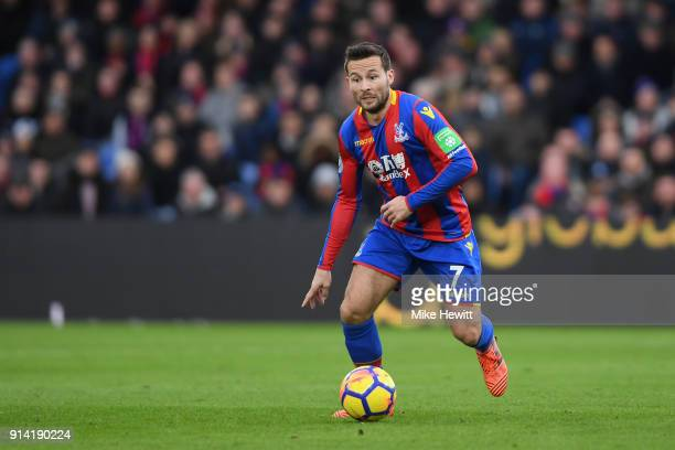 Yohan Cabaye of Crystal Palace in action during the Premier League match between Crystal Palace and Newcastle United at Selhurst Park on February 4...