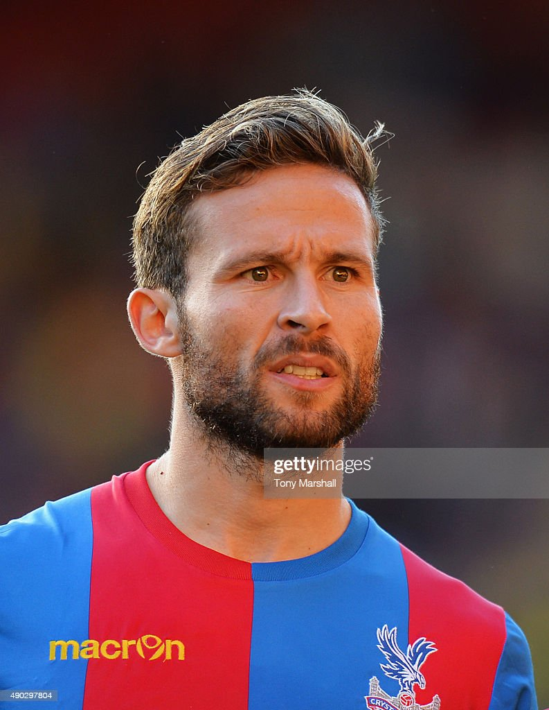 Yohan Cabaye of Crystal Palace looks on after victory in the Barclays Premier League match between Watford and Crystal Palace at Vicarage Road on September 27, 2015 in Watford, United Kingdom.
