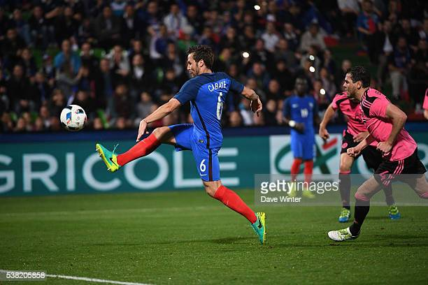 Yohan Cabaye of France during the international friendly match between France and Scotland at Stade SaintSymphorien on June 4 2016 in Metz France