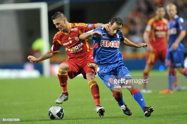 Yohan DEMONT / Ludovic GIULY Lens / Monaco 5eme journee de Ligue 2 Photo Dave Winter / Icon Sport