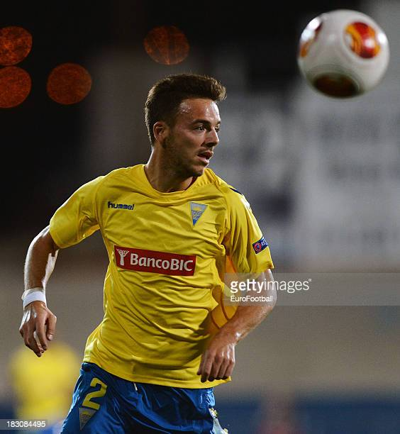 Yohan Tavares of Estoril Praia in action during the UEFA Europa League group stage match between Estoril Praia and Sevilla FC held on September 19...