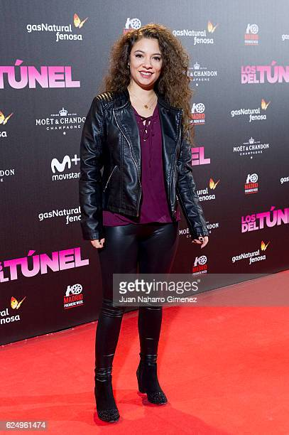 Yohana Cobo attends 'Los Del Tunel' premiere during the Madrid Premiere Week at Callao Cinema on November 21 2016 in Madrid Spain