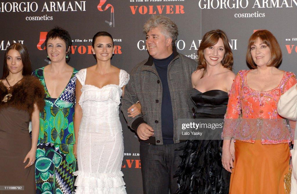 """""""Volver"""" Madrid Premiere"""