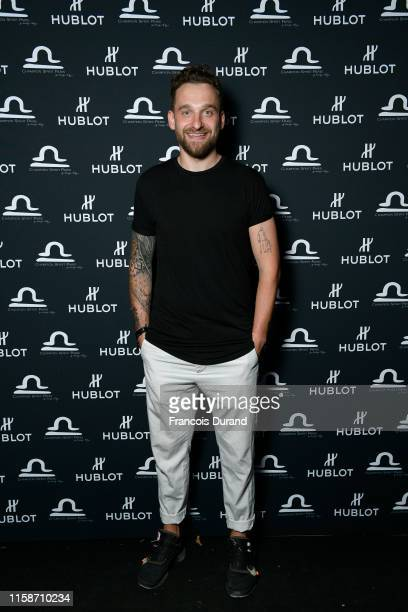 Yohann Caron attends the launch of Hublot x Champion Spirit on June 27 2019 in Paris France