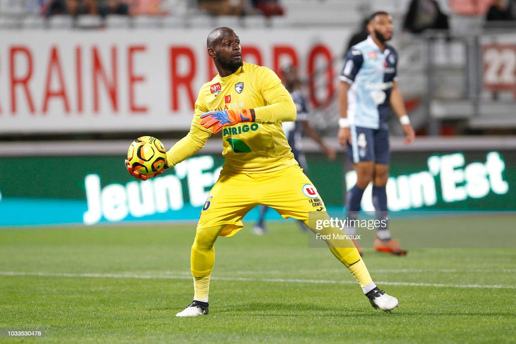 Yohann Thuram of Le Havre during the French Ligue 2 match between Nancy and Le Havre on September 14, 2018 in Nancy, France.