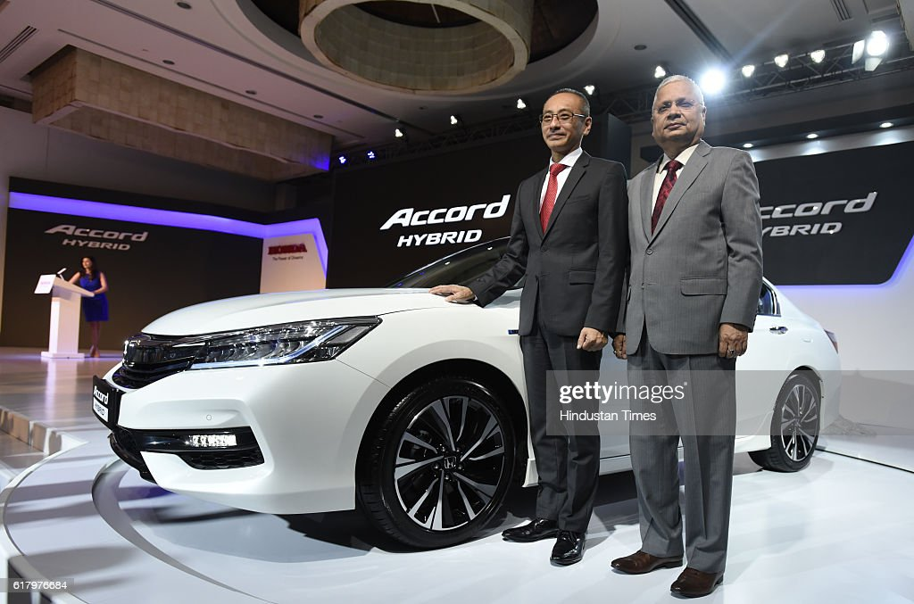 Yoichiro Ueno President And CEO Of Honda Cars India Ltd Raman Sharma
