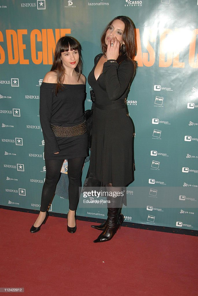 Yoima Valdes and guest during 'Cinema Days' Madrid Premiere at Kinepolis in Madrid, Spain.