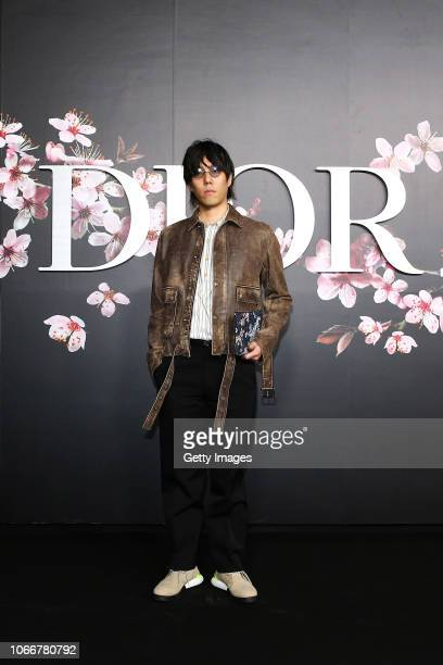 Yojiro Noda attends the photocall at the Dior Pre Fall 2019 Men's Collection on November 30, 2018 in Tokyo, Japan.