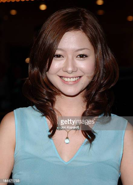Yoko Maki during 'The Grudge' Los Angeles Premiere Arrivals at Mann Village Theater in Westwood California United States