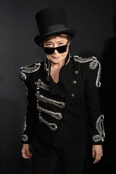 "Yoko Ono At ""Fame"" Eau De Parfum Launch Event Wall Art"