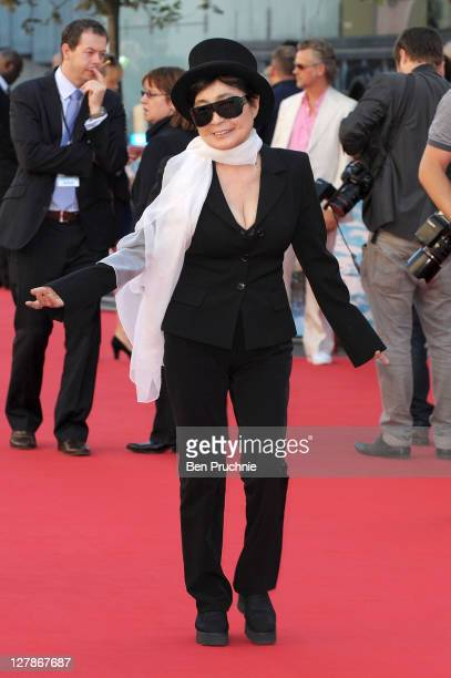 Yoko Ono attends the 'George Harrison: Living In The Material World' film documentary UK premiere at BFI Southbank on October 2, 2011 in London,...